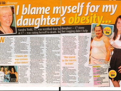 I blame myself for my daughter's obesity