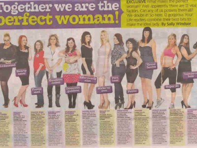 Together we are the perfect woman!
