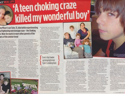 Did my son die playing The Choking Game?