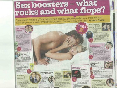 Sex Boosters - What rocks and what flops?