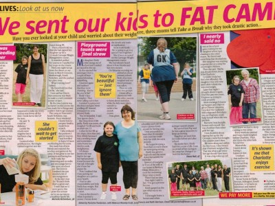 We sent our kids to fat camp