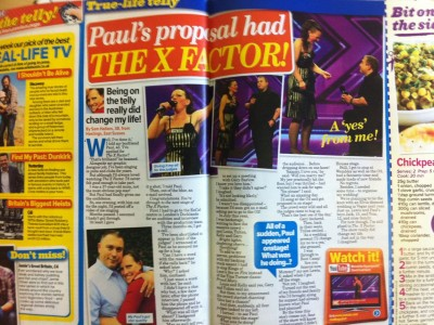 Paul's proposal had the X-Factor