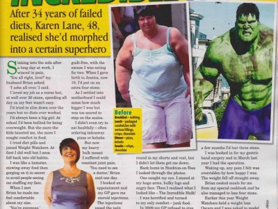 'You Won't Like Me When I'm Hungry' - I Went From The Hulk To A Honey!