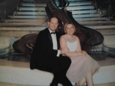 (6) SHELLEY - with Wayne, on the cruise where he proposed