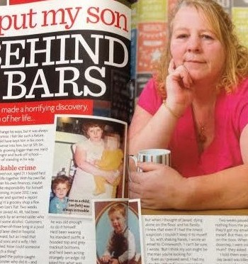 I grassed up my son for murder after watching Crimewatch