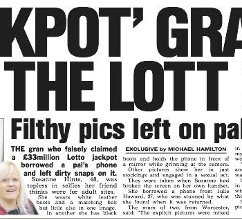 """Jackpot"" gran has got the lotto out"