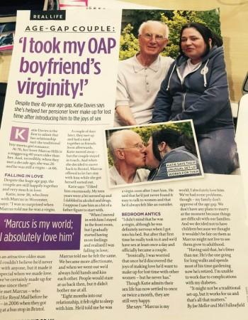 I took my OAP boyfriend's virginity