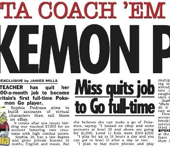 I quit my teaching job to play Pokemon